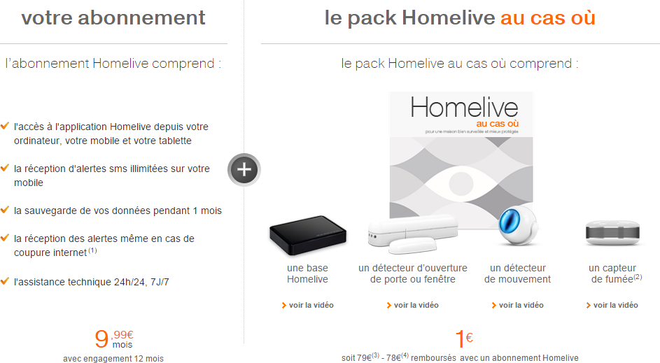 Offre Homelive